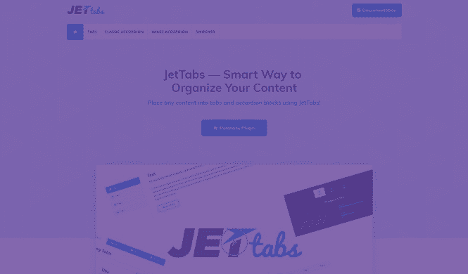 Elementor Plugin. 10 JetPlugins - Best Add-ons for Elementor Page Builder