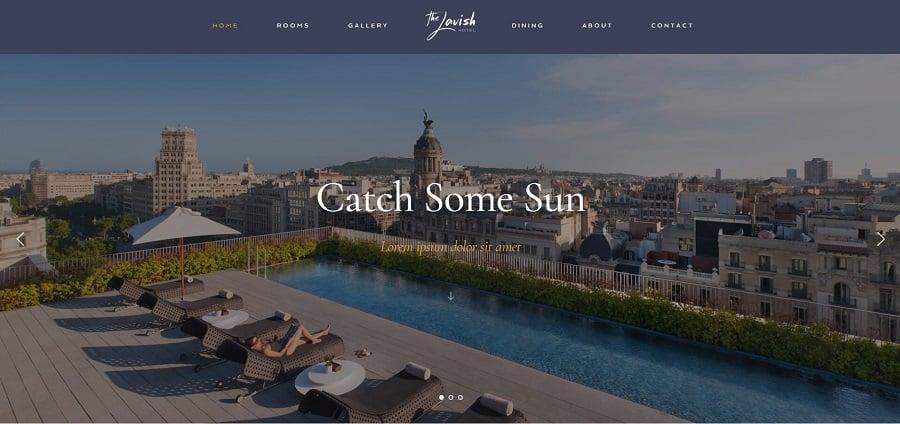 Haven - Hotel WordPress Theme