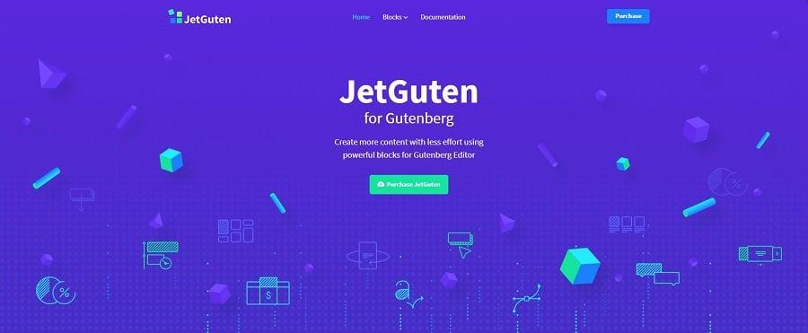 JetGuten - Blocks Set Addon for Gutenberg Editor WordPress Plugin