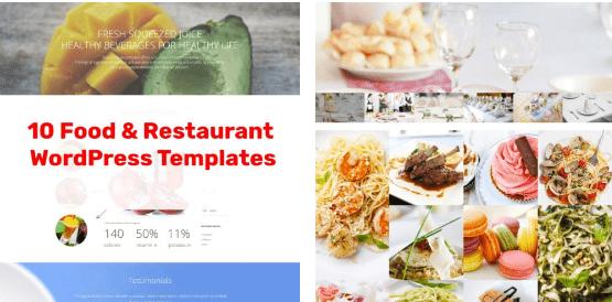 10 Restaurant WordPress Themes