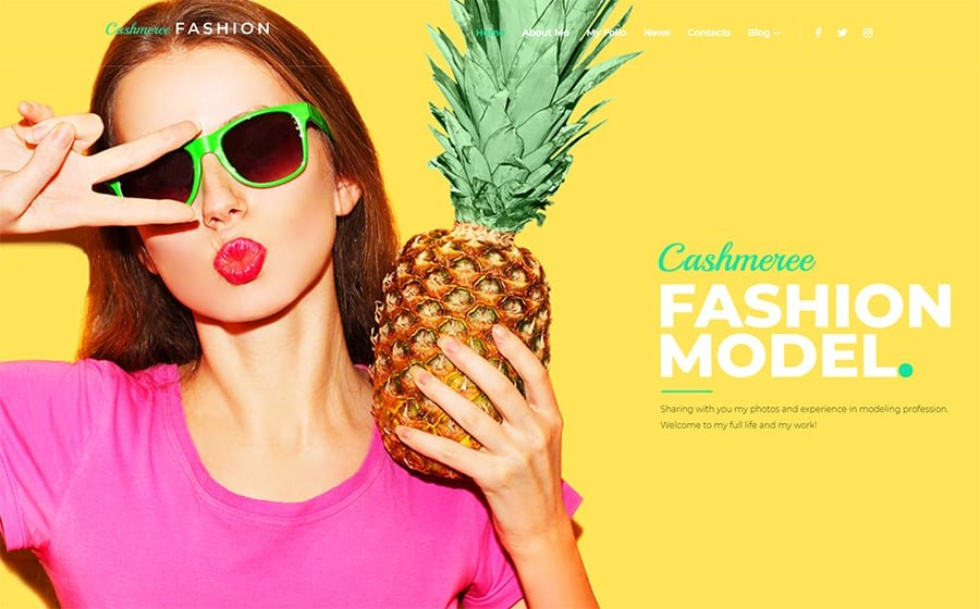 Fashion WordPress Theme WordPress Theme