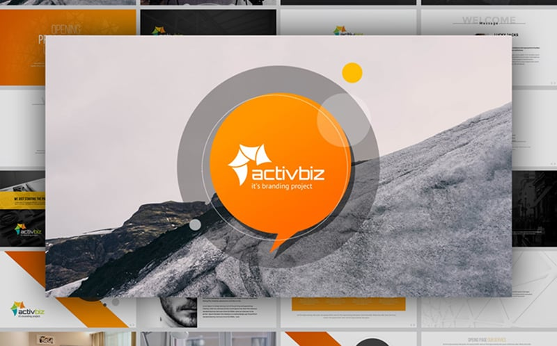 ActivBiz Business PowerPoint Template