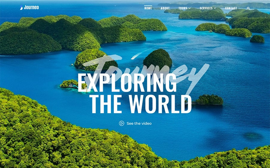 Journeo - Travel Agency Elementor WordPress Theme