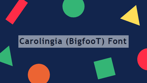 Carolingia (BigfooT)