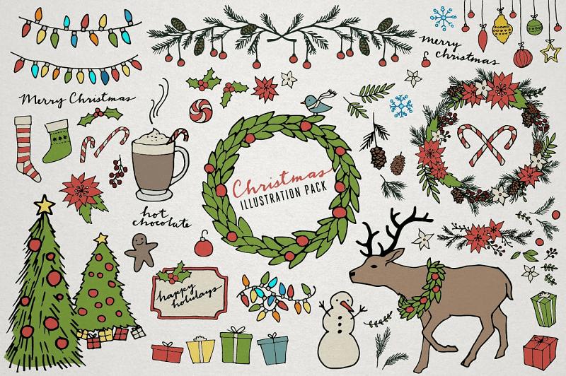 Christmas & Winter Illustrations