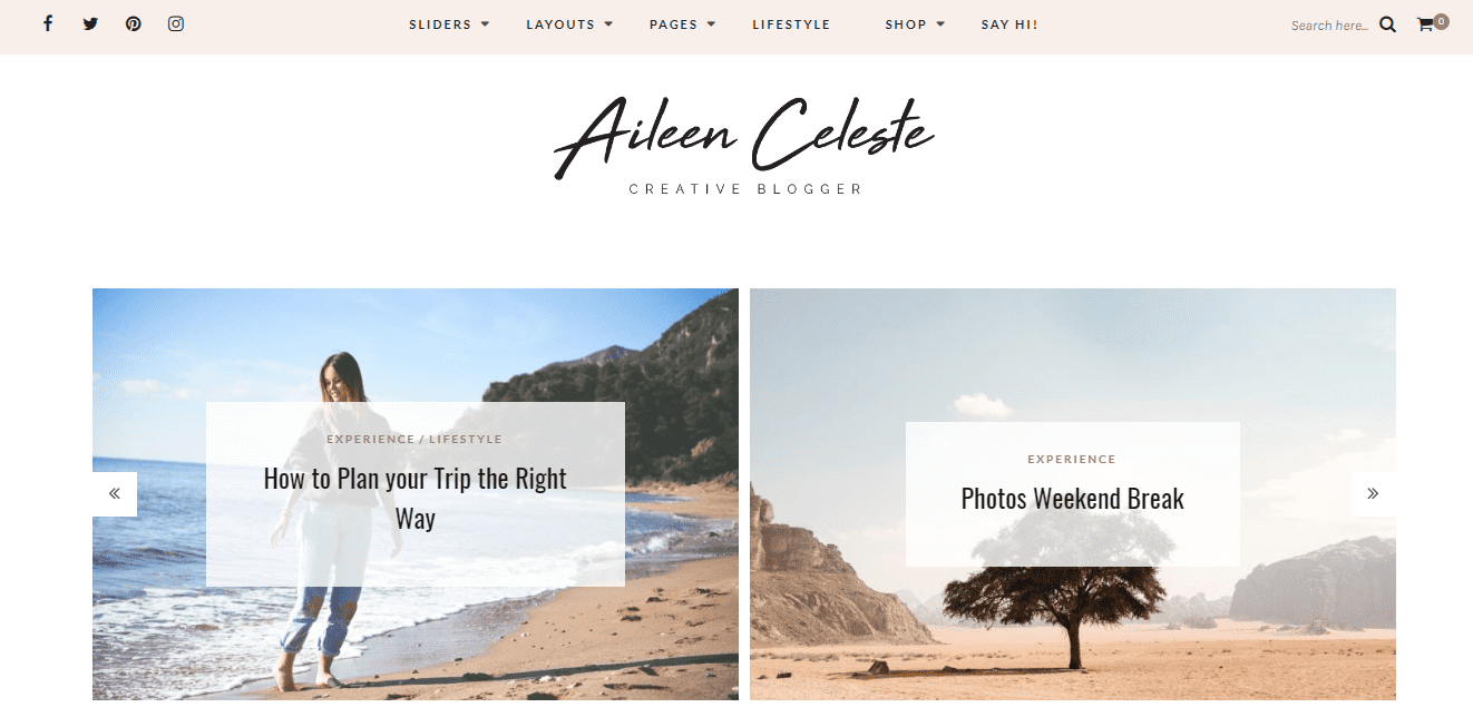 Set of WordPress Themes for Personal Blog Relevant to Your Horoscope And Life Position - image10 1