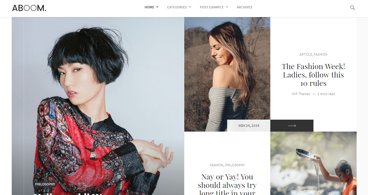 Set of WordPress Themes for Personal Blog Relevant to Your Horoscope And Life Position - image2 4