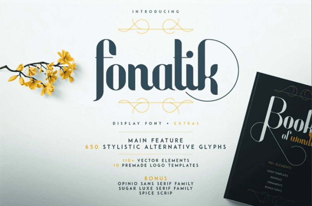 20+ Awesome Fonts for Logos and Websites - image3 5