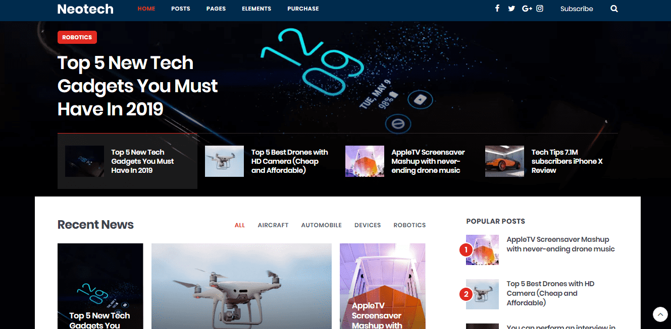 Set of WordPress Themes for Personal Blog Relevant to Your Horoscope And Life Position - image5 3
