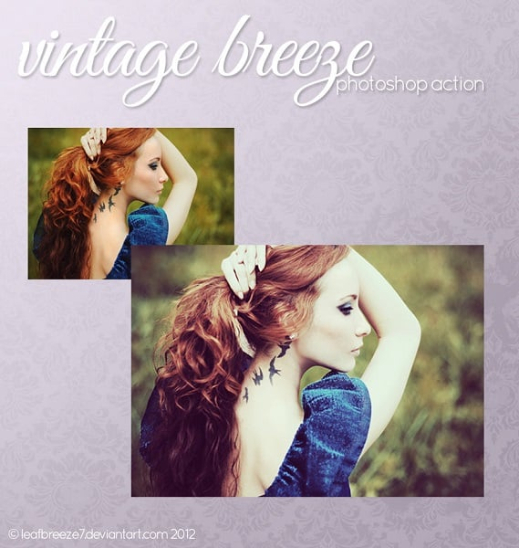 vintage breeze action