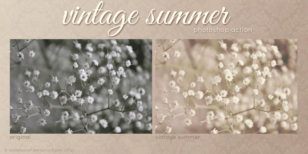 Vintage Summer Action