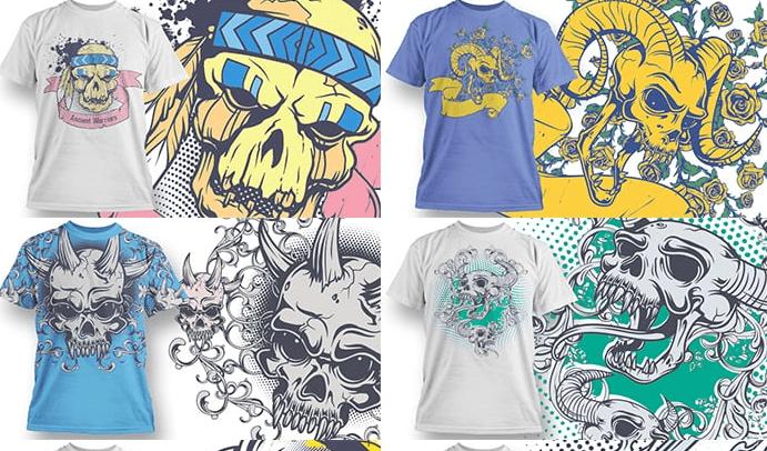 50 Vintage T-shirt Designs