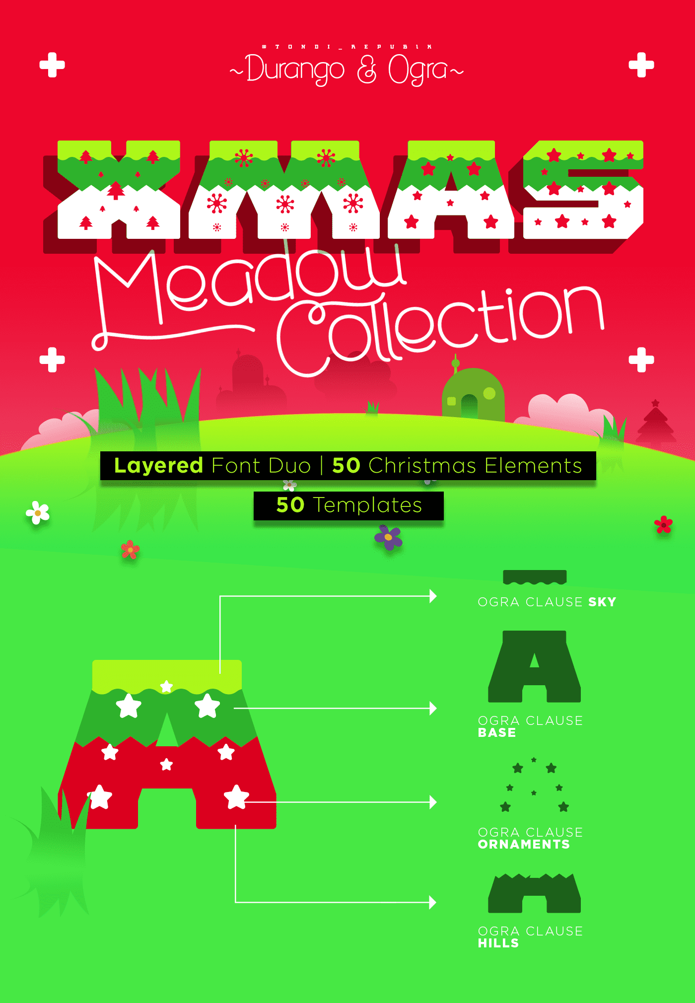 Xmas Meadow Collection - $17 ONLY - 01