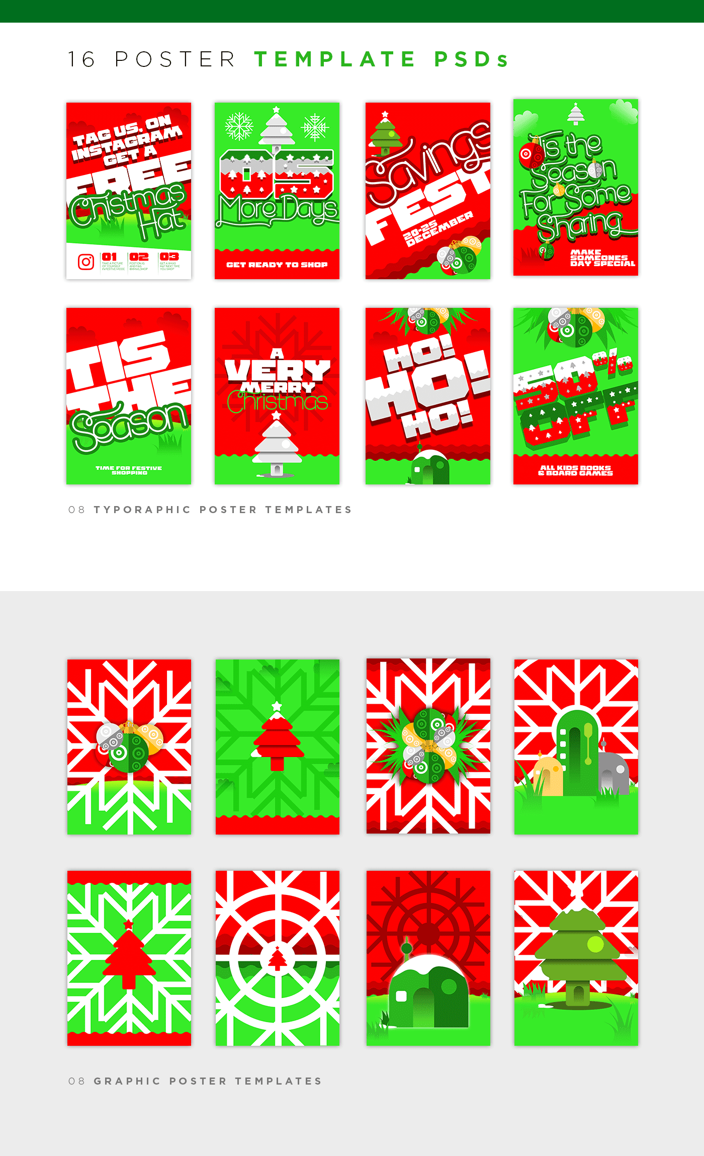 Xmas Meadow Collection - $17 ONLY - 04