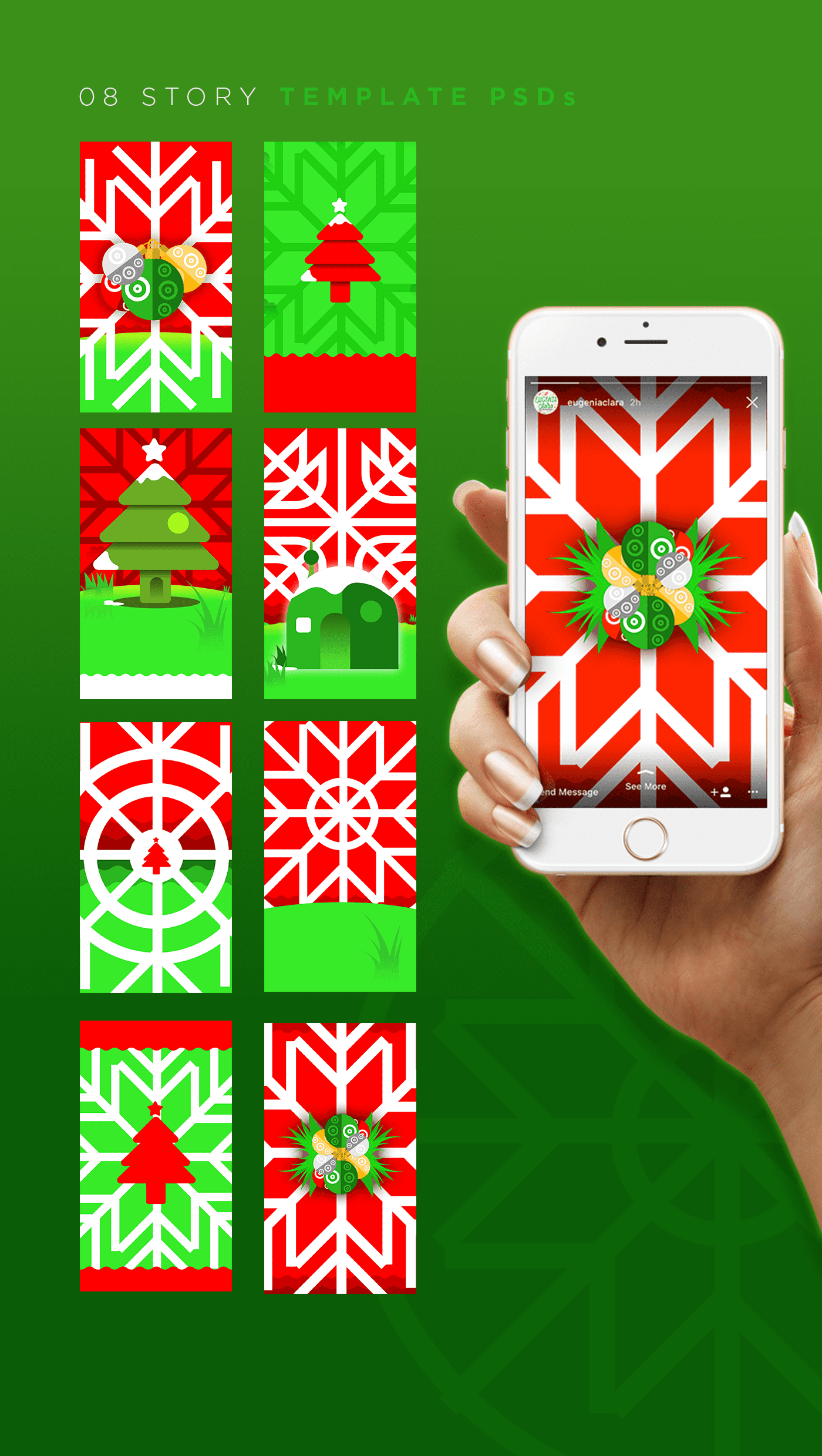 Xmas Meadow Collection - $17 ONLY - 05