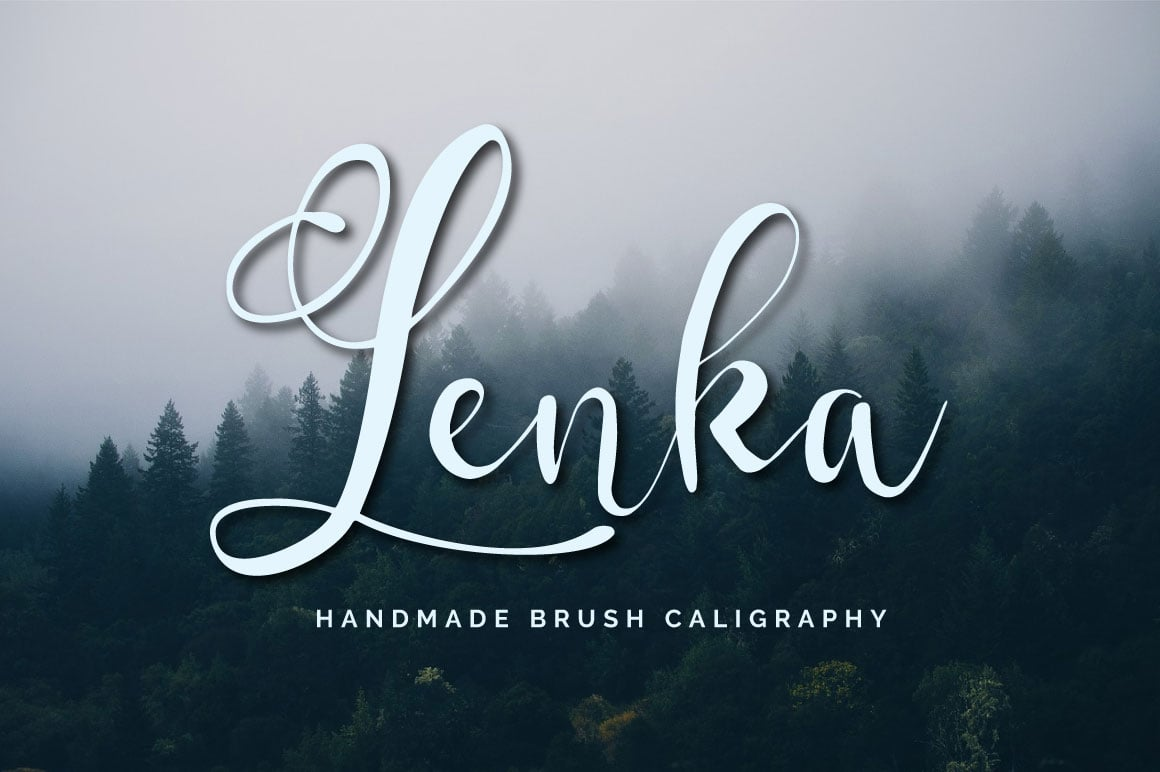 Lenka Brush Caligraphy + Bonus - $9 - Lenka Cover Image