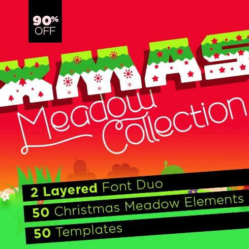 Christmas Design Elements 50% OFF - MasterBundles 490x490 C 2
