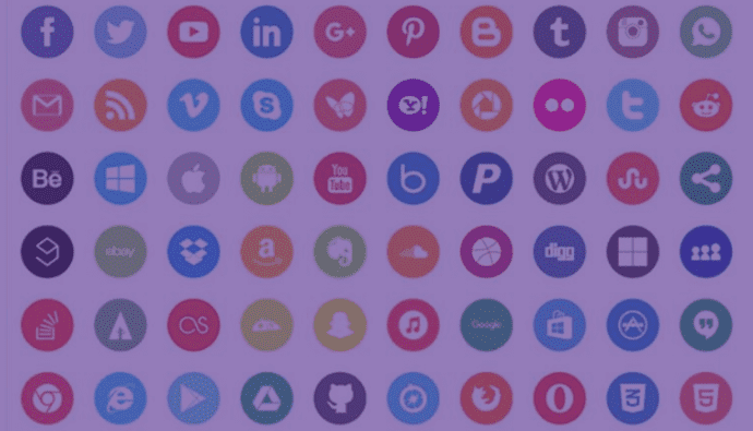 7+ Social Media Icons Bundles To Boost Your Online Presence