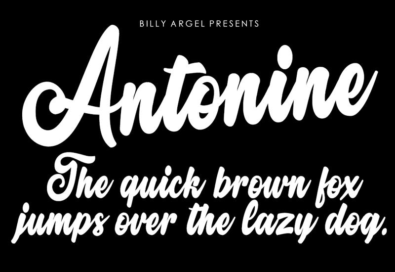 135+ Best Script Fonts in 2020. Free and Premium - antonine