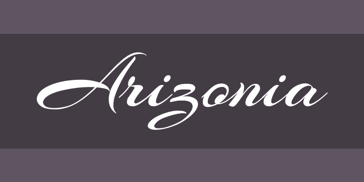 135+ Best Script Fonts in 2020. Free and Premium - arizona