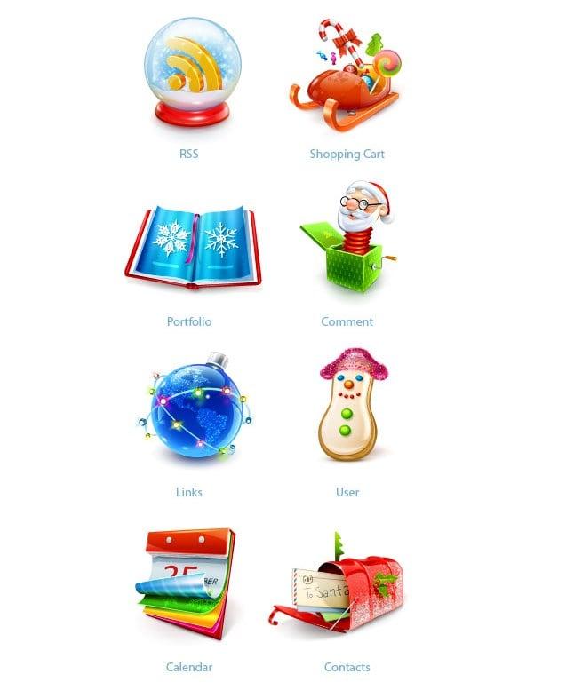 150+ Free Christmas Graphics: Fonts, Images, Vectors, Patterns & Premium Bundles - best christmas icon set smashing magazine