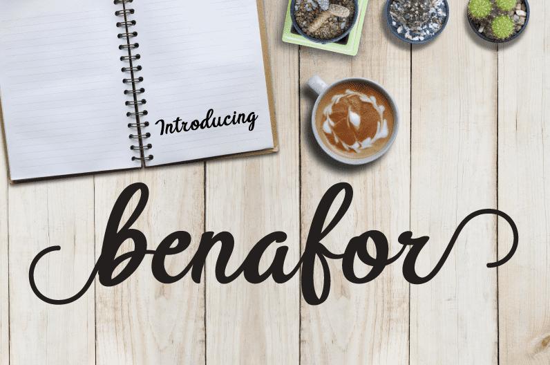 135+ Best Script Fonts in 2020. Free and Premium - btx benafor