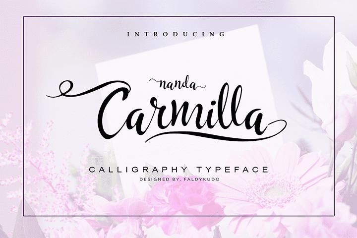 135+ Best Script Fonts in 2020. Free and Premium - carmilla