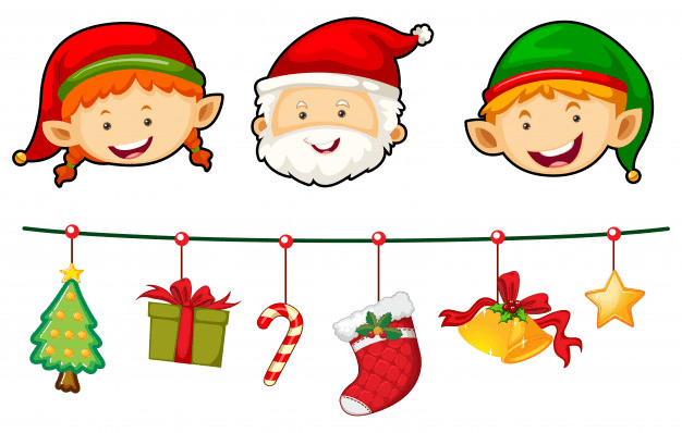 Top-50 Christmas Pictures Clipart 2020: Free & Premium - christmas clipart02