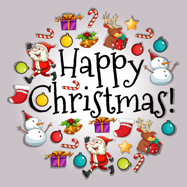 Top-50 Christmas Pictures Clipart 2020: Free & Premium - christmas clipart03