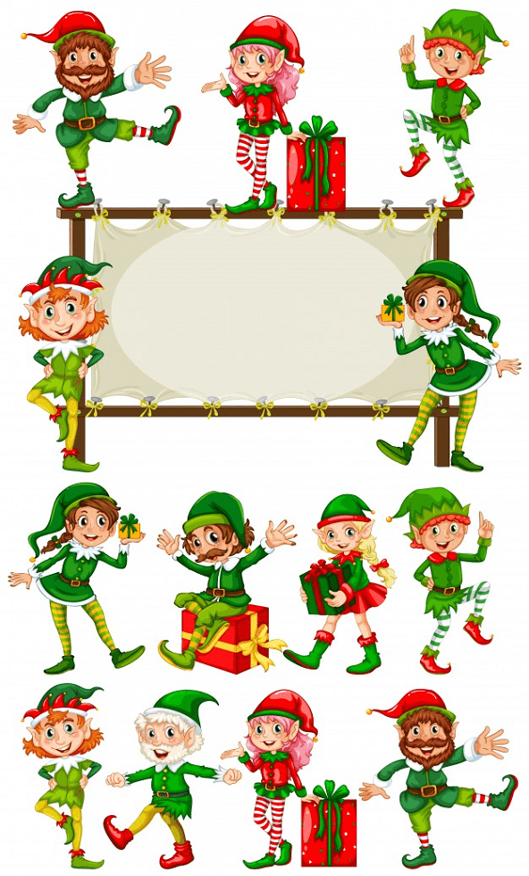 Top-50 Christmas Pictures Clipart 2020: Free & Premium - christmas clipart07