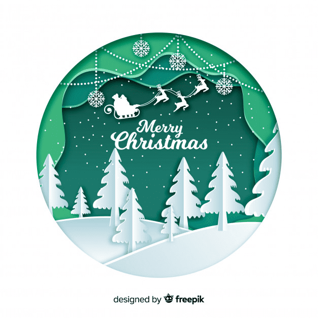 Top-50 Christmas Pictures Clipart 2020: Free & Premium - christmas clipart08