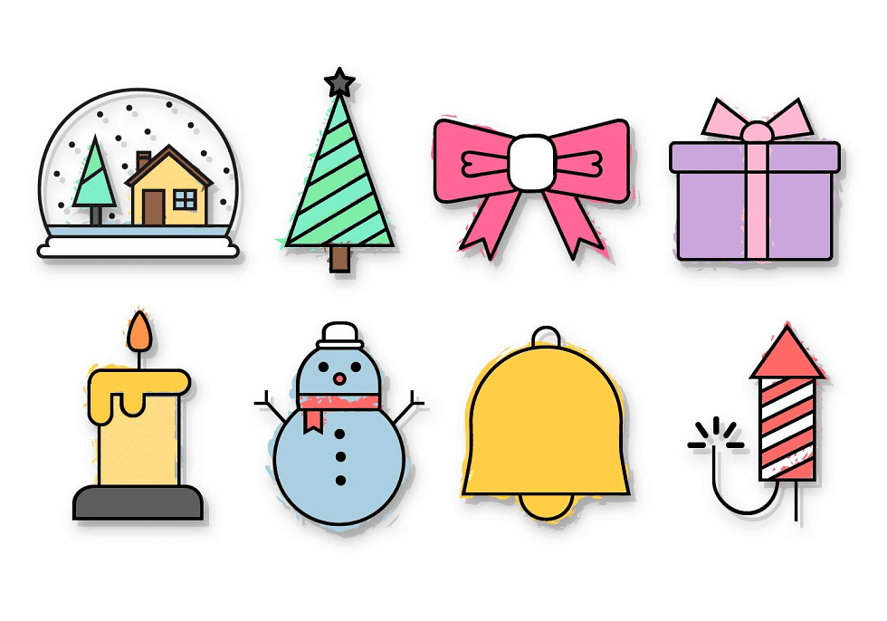 Top-50 Christmas Pictures Clipart 2020: Free & Premium - christmas clipart27