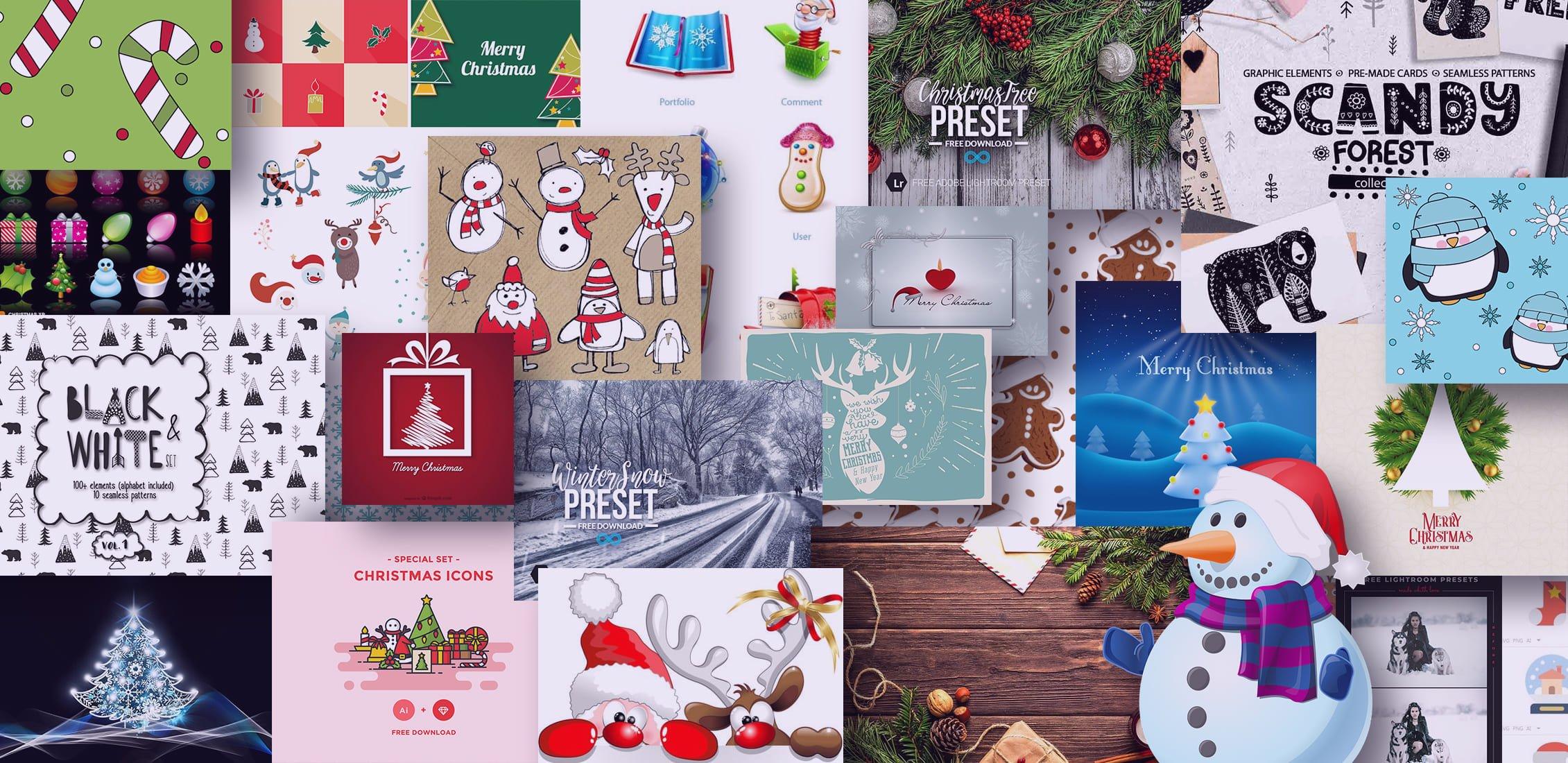 Exmaples Best Christmas Graphics.