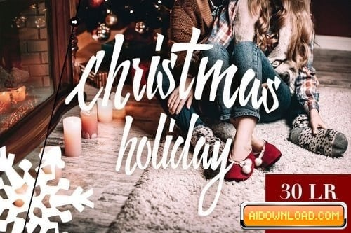 150+ Free Christmas Graphics: Fonts, Images, Vectors, Patterns & Premium Bundles - christmas holiday lightroom presets free download