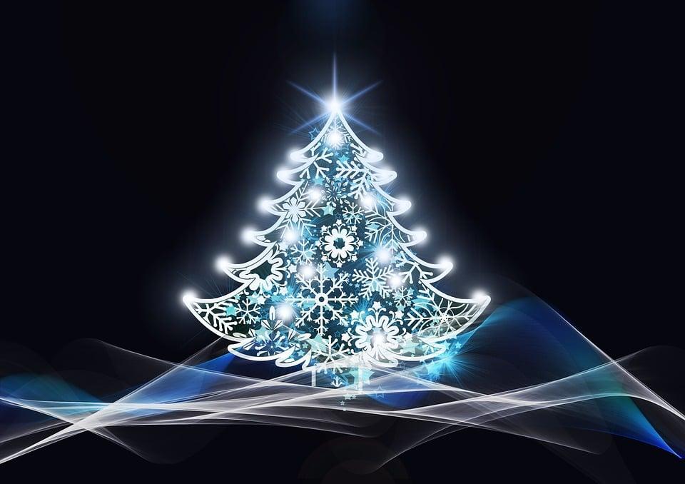 150+ Free Christmas Graphics: Fonts, Images, Vectors, Patterns & Premium Bundles - christmas tree background