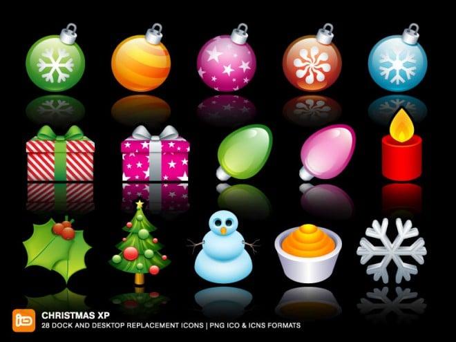 150+ Free Christmas Graphics: Fonts, Images, Vectors, Patterns & Premium Bundles - christmas xp dock