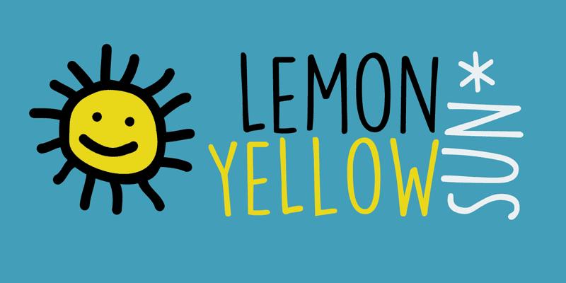 135+ Best Script Fonts in 2020. Free and Premium - dk lemon yellow sun