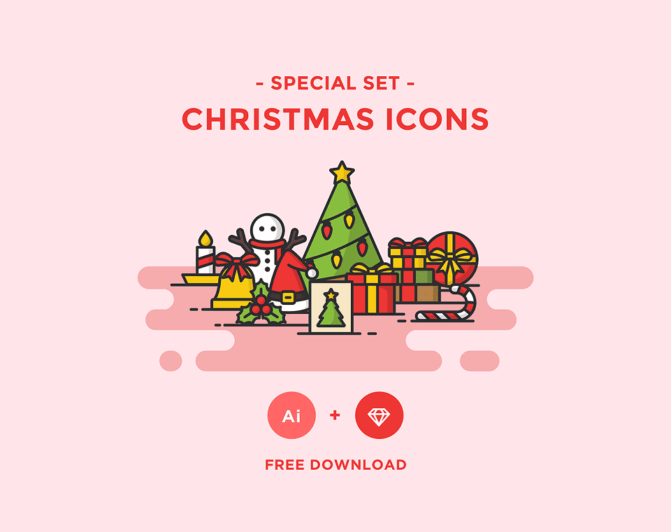 150+ Free Christmas Graphics: Fonts, Images, Vectors, Patterns & Premium Bundles - free christmas icons