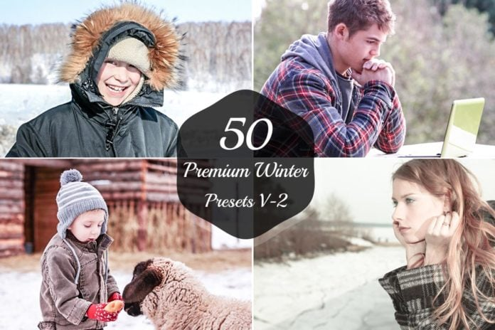 150+ Free Christmas Graphics: Fonts, Images, Vectors, Patterns & Premium Bundles - free winter lightroom presets version 2