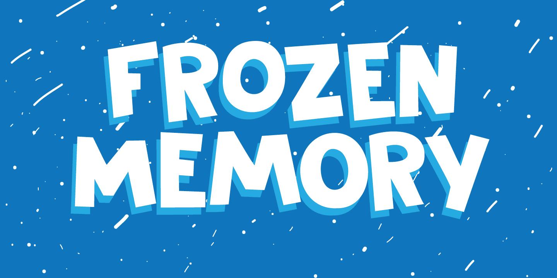 150+ Free Christmas Graphics: Fonts, Images, Vectors, Patterns & Premium Bundles - frozen memory poster 1