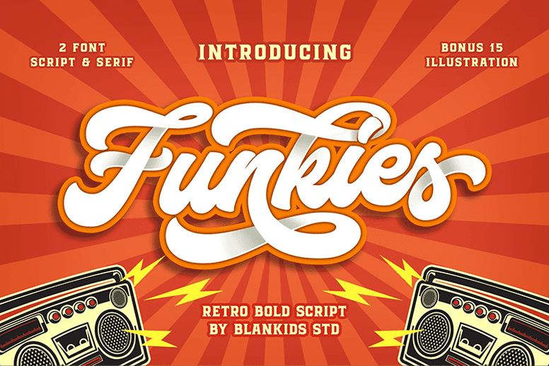 135+ Best Script Fonts in 2020. Free and Premium - funkies