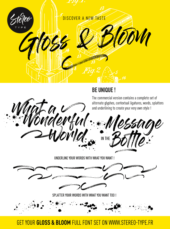 135+ Best Script Fonts in 2020. Free and Premium - gloss and bloom