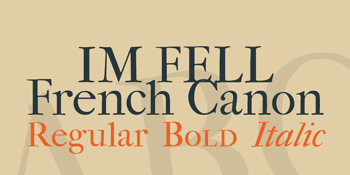 135+ Best Script Fonts in 2020. Free and Premium - im fell french canon font