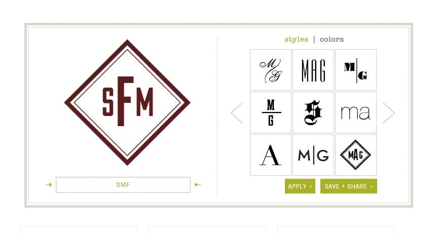 Monogram Maker. 8+ AMAZING Options To Create Monogram Logo Designs With Monogram Maker Online - image1 3