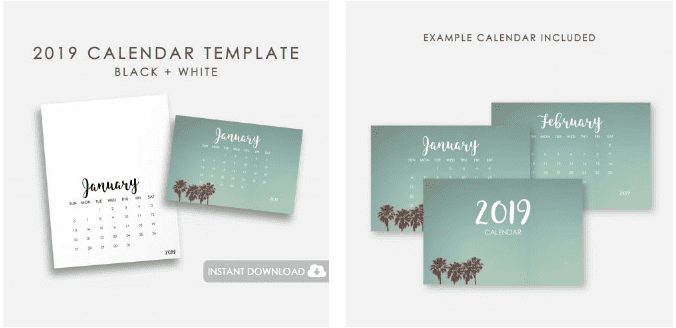 18 Editable Calendar Templates To Keep Track Of Important Dates and Events - image7