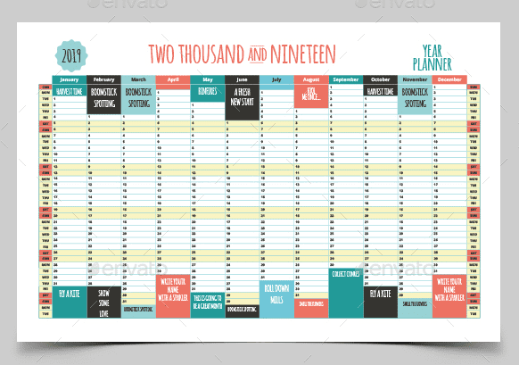 18 Editable Calendar Templates To Keep Track Of Important Dates and Events - image8