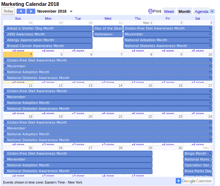 18 Editable Calendar Templates To Keep Track Of Important Dates and Events - image9