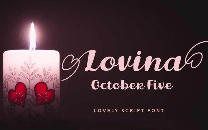 135+ Best Script Fonts in 2020. Free and Premium - lovina october five
