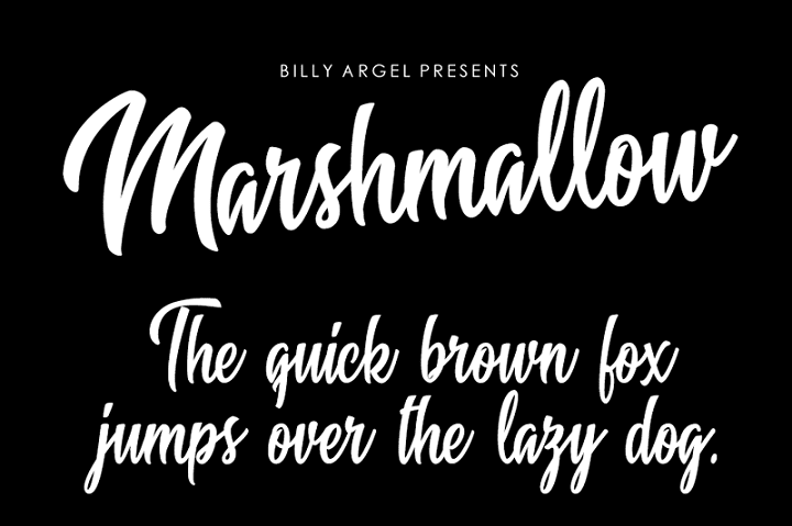 135+ Best Script Fonts in 2020. Free and Premium - marshmallow