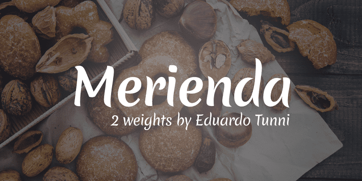 135+ Best Script Fonts in 2020. Free and Premium - merienda